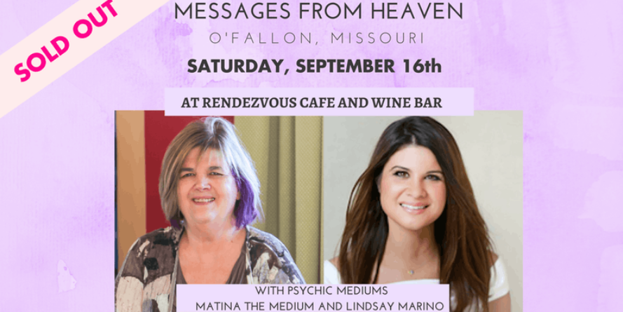 Message From Heaven Event – Sept. 2017